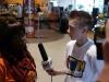 Kinderreporter beim Interview